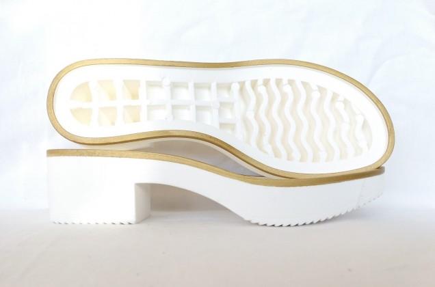 CALPE TR Light Blanco cerco pintado Oro
