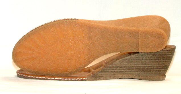NESTA TR Caramel Leather welt Beige wine printe Stripes